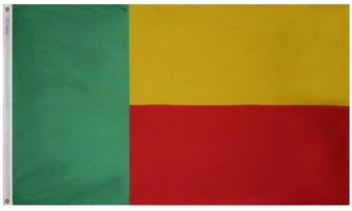 Benin Outdoor Flag for Sale