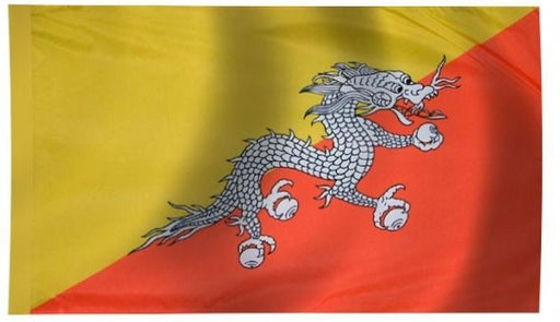 Bhutan Indoor Flag for sale