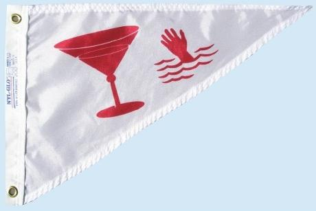 Cocktail Pennant flag for sale