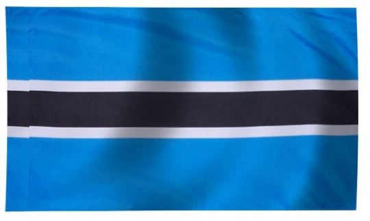 Botswana Indoor Flag for sale