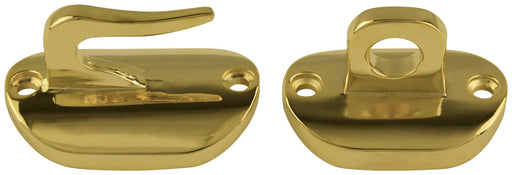 brass hook and eye for flagpoles - parade flagpole parts for sale - flagman of america