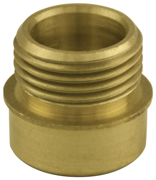 brass ornament adapter for aluminum flagpoles - parade flagpole parts for sale - flagman of america