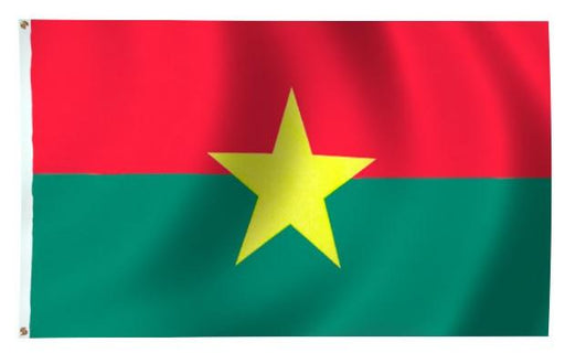 Burkina Outdoor Flag for Sale