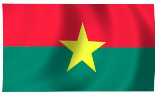 Burkina Indoor Flag for sale