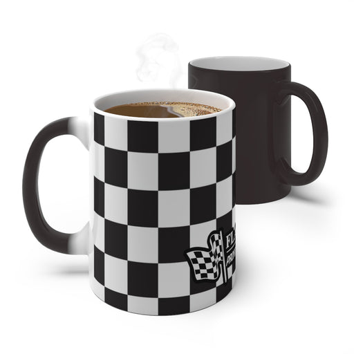 Checkered Color Changing Mug