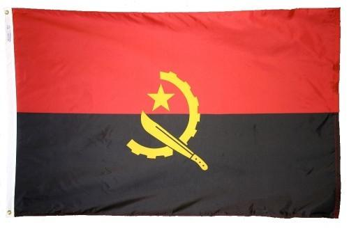 Angola Outdoor Flag
