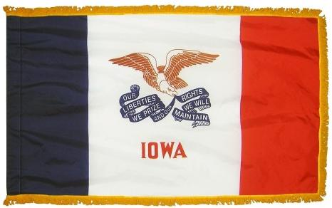 Iowa Indoor Flag