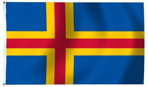 Aland Islands Outdoor Flag