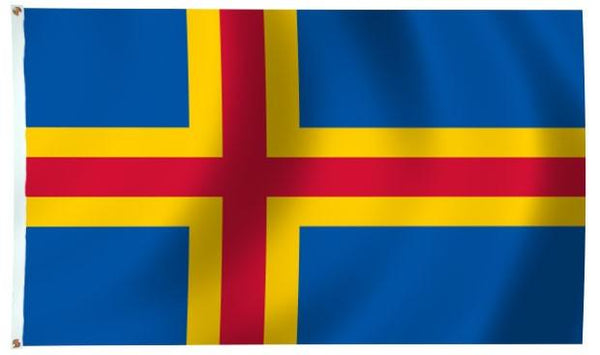 Aland Island Flags