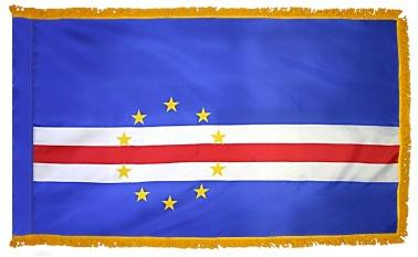 Cape Verde Indoor Flag for sale