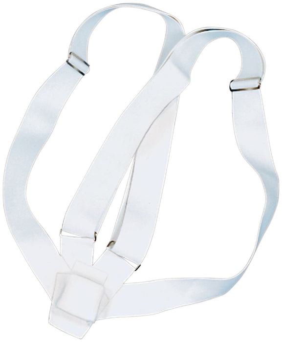 parade flagpole carrying belt for sale - white - flagman of america