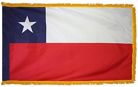 Chile Indoor Flag for sale