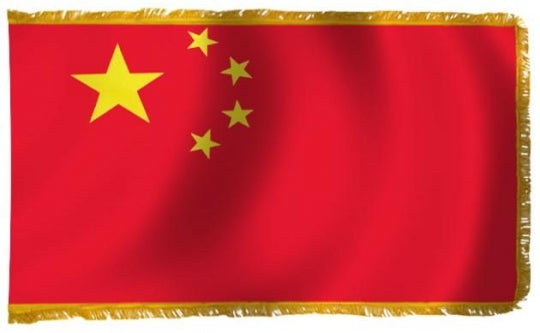 Peoples Republic of China Indoor Flag for sale
