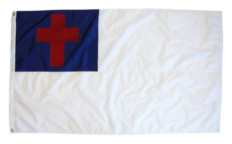Outdoor Sewn Christian Flag for sale