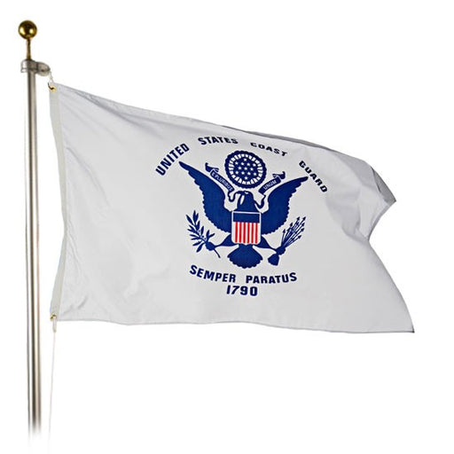 coast guard outdoor flag for sale - commercial grade - made in usa Flagman of America