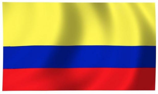 Colombia Indoor Flag for sale