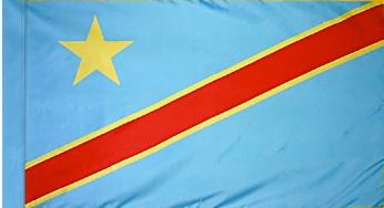 Democratic Republic of Congo Indoor Flag for sale