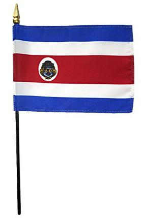 Mini Costa Rica Flag for sale