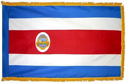 Costa Rica Indoor Flag for sale