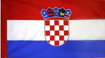 Croatia Indoor Flag for sale