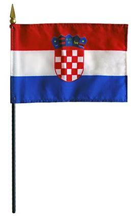 Mini Croatia Flag for sale