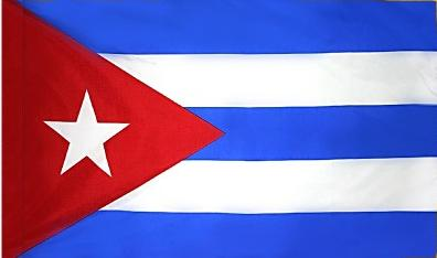 Cuba Indoor Flag for sale
