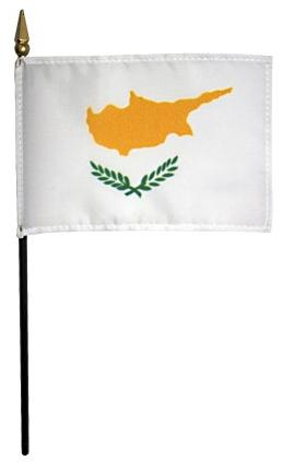 Mini Cyprus Flag for sale
