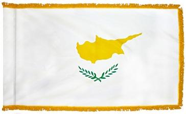 Cyprus Indoor Flag for sale