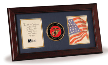 Armed Forces Medallion Desktop Box