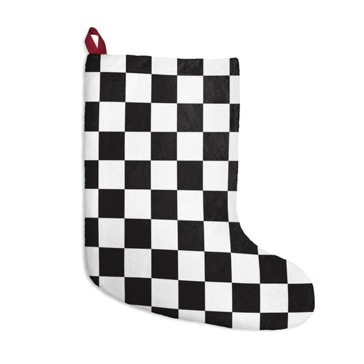 Checkered Christmas Stockings