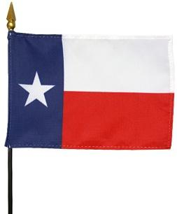Miniature Texas Flag
