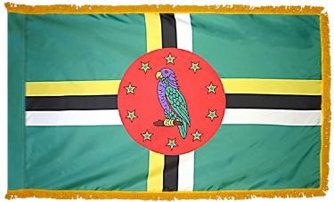 Dominica Indoor Flag for sale