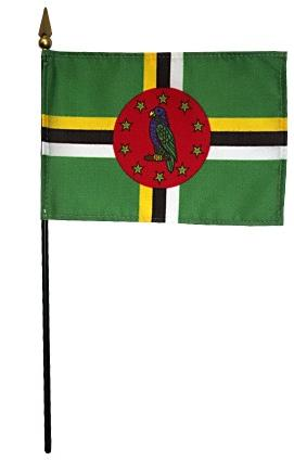 Mini Dominica Flag for sale
