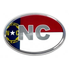 North Carolina Auto Emblem