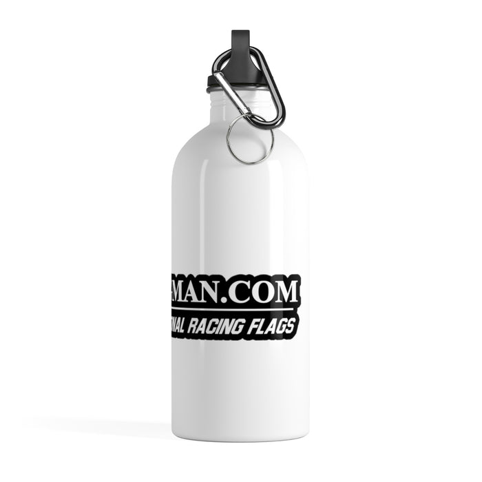 Flagman Racing Stainless Steel Water Bottle