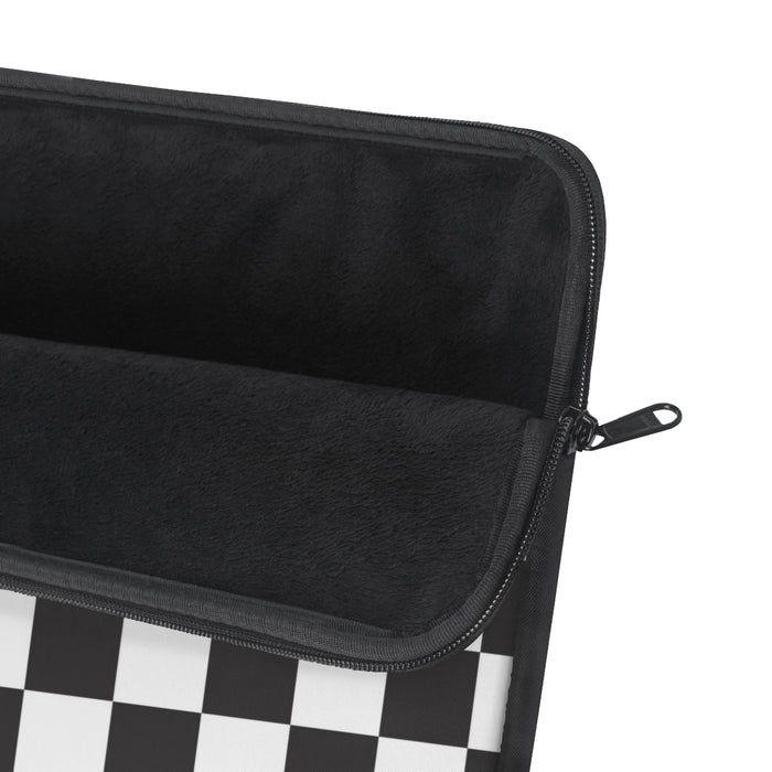 Checkered Laptop Sleeve