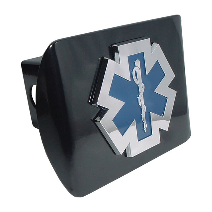 EMT Hitch Cover for Sale - EMS Hitch Cover for Sale - Star of Life Hitch Cover for Sale - Made in USA - Flagman of America