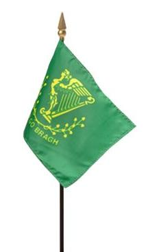 Mini Erin-Go-Bragh Flag for sale