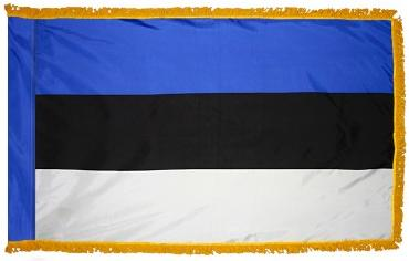 Estonia Indoor Flag for sale
