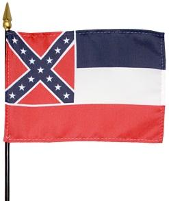 Miniature Mississippi Flag