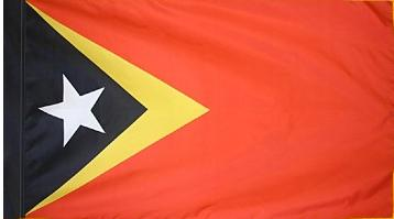 East Timor Indoor Flag for sale