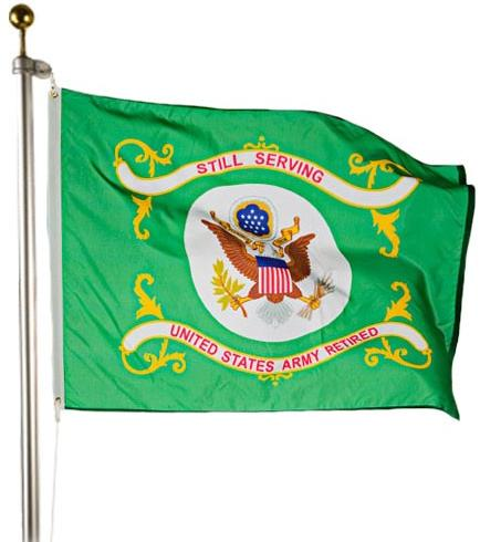 US Army Retired Flag