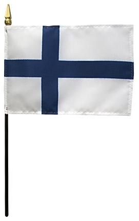 Mini Finland Flag for sale