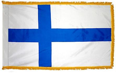 Finland Indoor Flag for sale