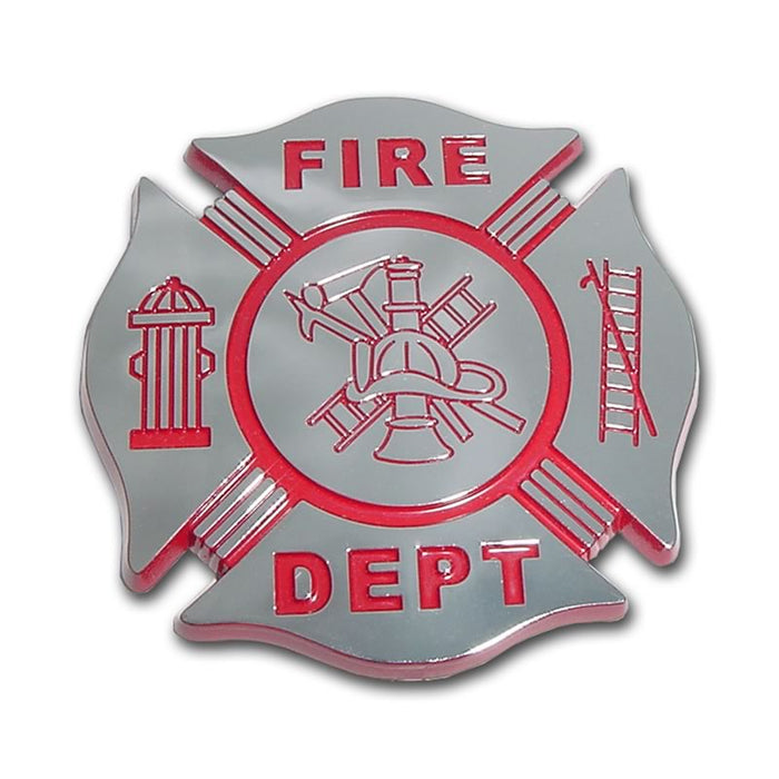 fire department car emblem for sale - commercial grade - made in usa