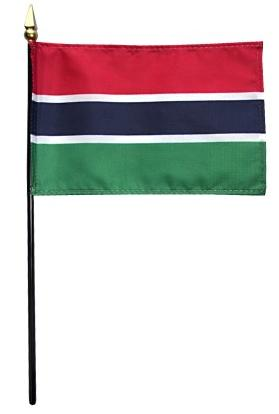Mini Gambia Flag for sale