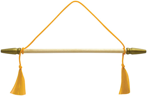 gold banner hanging cords for sale - flag making supplies - flagman of america