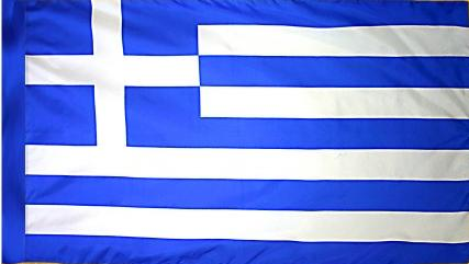 Greece Indoor Flag for sale