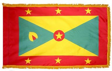 Grenada Indoor Flag for sale