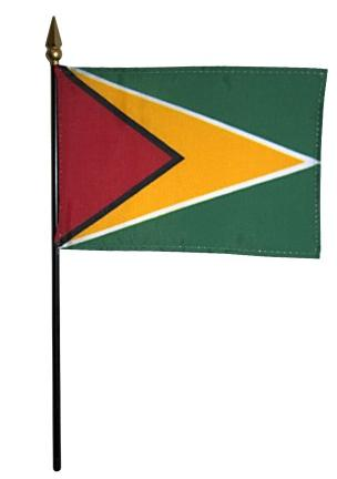 Mini Guyana Flag for sale